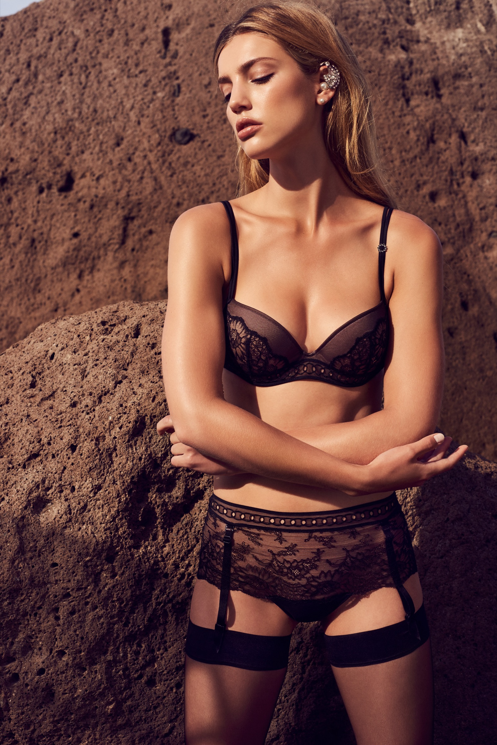50bb6537b This luxurious lingerie series holds a seductive promise of an elegant  Christmas and New Year. Rather than overstated opulence