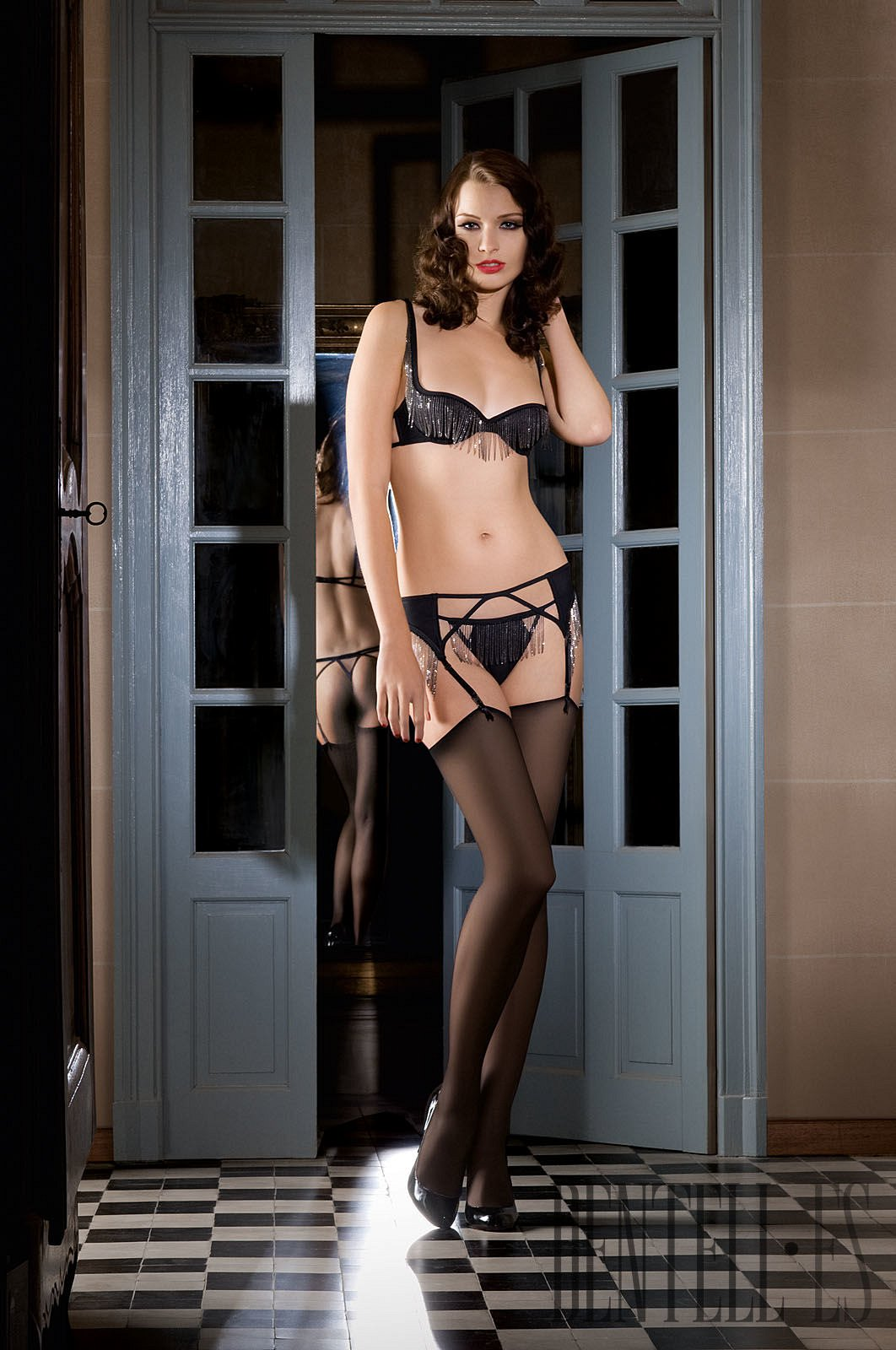 Maison close spring summer 2012 lingerie for A la maison close