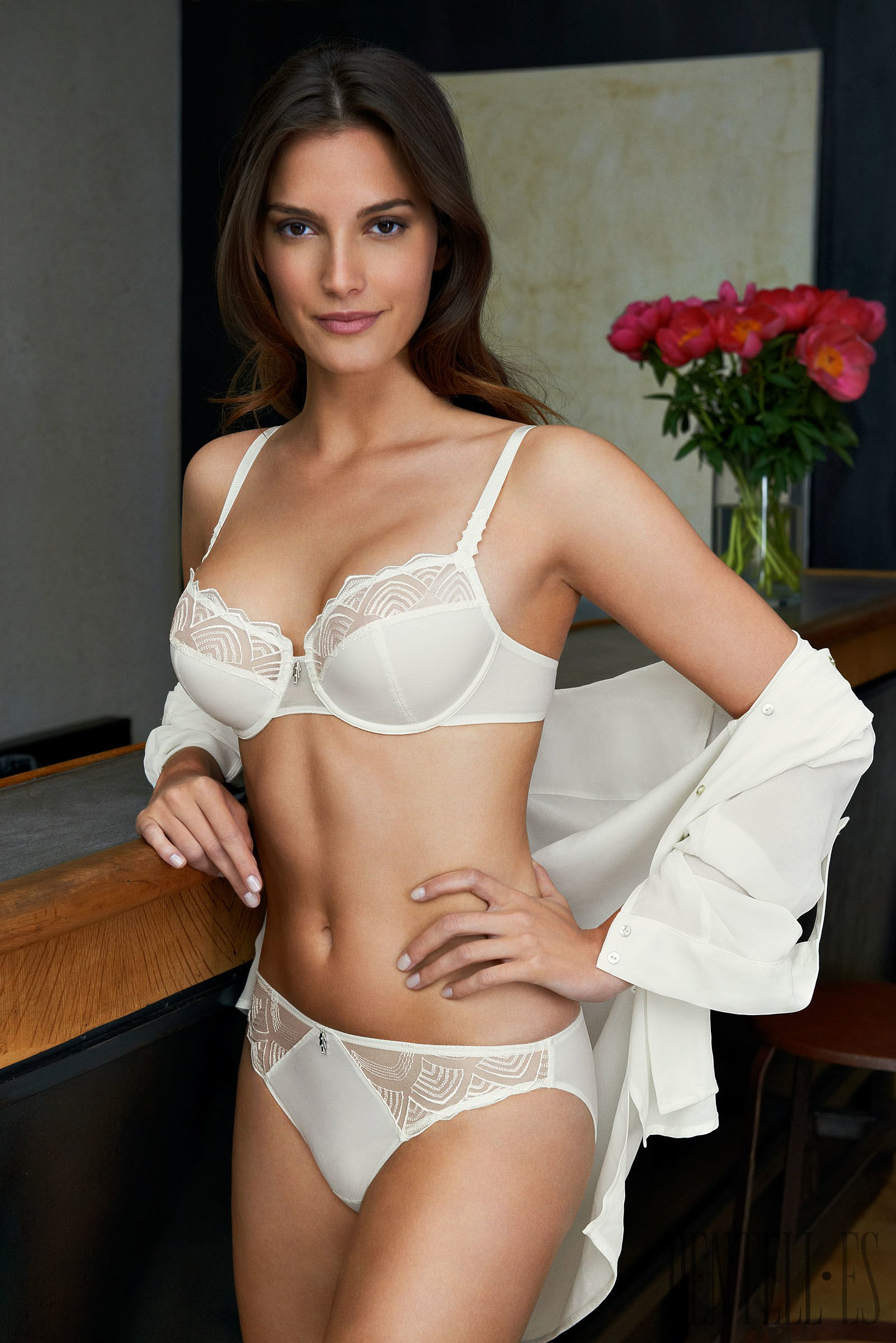 Spring Fashion Lingerie Silk