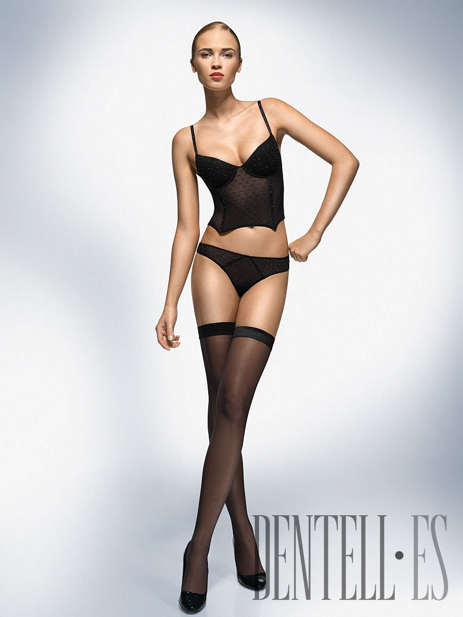 Wolford Fall-winter 2008-2009 - Lingerie - 1